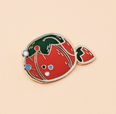 Tomato Pincushion Pin