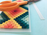 Bargello Needlepoint Planter Workshop