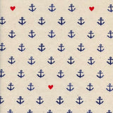 S.S. Bluebird You're My Anchor by Cotton + Steel in Natural