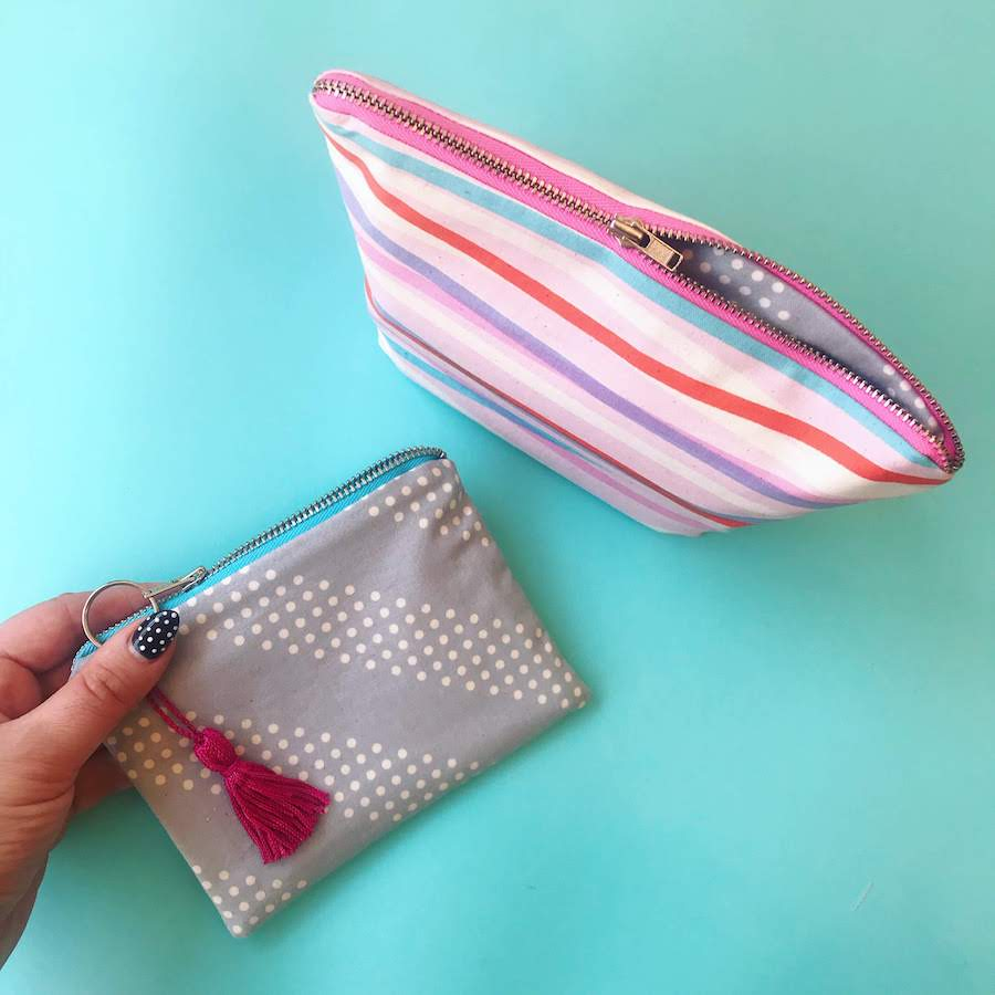 VIRTUAL WORKSHOP: Sew a Zipper Pouch