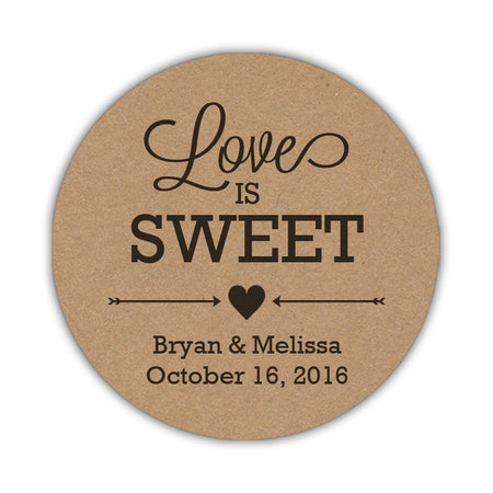 Love is sweet stickers 'Subtle Sweetness'