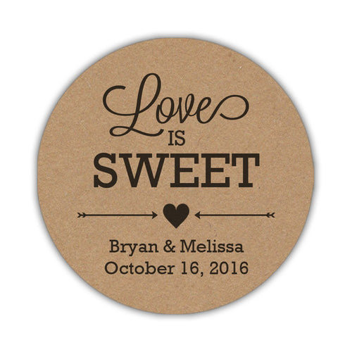 Love is sweet stickers 'Country Classic' -  - Dazzling Daisies