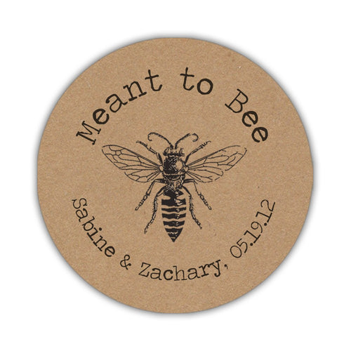 Meant to bee stickers 'Rustic Kraft' -  - Dazzling Daisies
