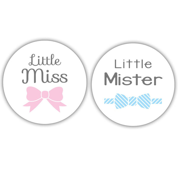 Little Miss, Little Mister stickers -  - Dazzling Daisies