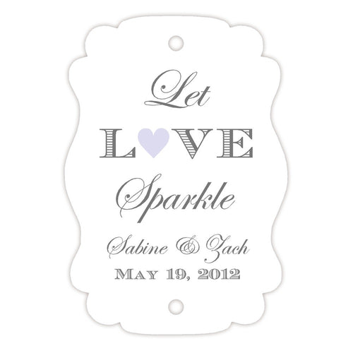 Sparkler tags - Lavender - Dazzling Daisies