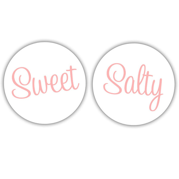 Sweet and salty stickers -  - Dazzling Daisies