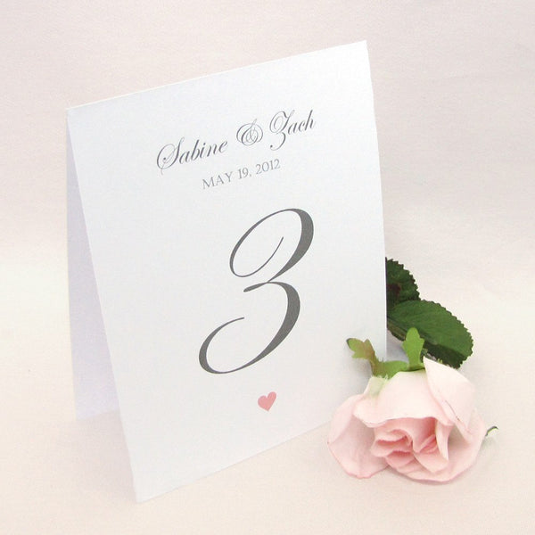 Wedding table numbers -  - Dazzling Daisies