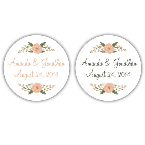 Rustic wedding stickers flowers -  - Dazzling Daisies