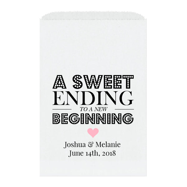 A sweet ending to a new beginning bags - Pink - Dazzling Daisies
