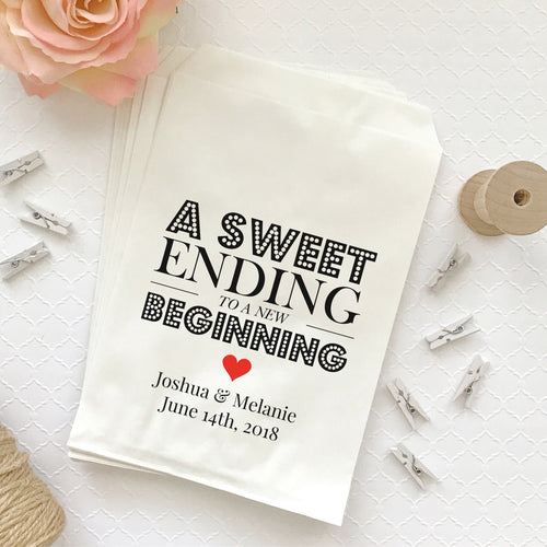 A sweet ending to a new beginning bags -  - Dazzling Daisies