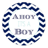Ahoy it's a boy tags - Aquamarine - Dazzling Daisies