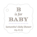 B is for baby tags - Lavender - Dazzling Daisies