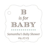 B is for baby tags - Sage - Dazzling Daisies