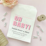 Baby shower treat bags Oh Baby -  - Dazzling Daisies