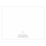 Personalized note cards 'Bold Whimsical' -  - Dazzling Daisies