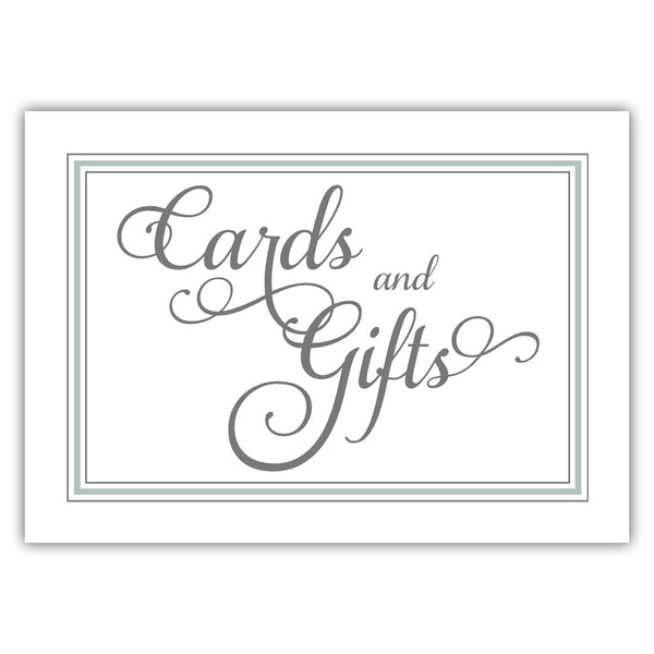 Cards and gifts sign 'Elevated Elegance' - Sage - Dazzling Daisies