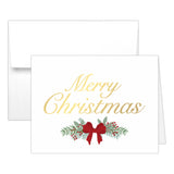 Christmas cards 'Pine Berries' - Gold foil - Dazzling Daisies
