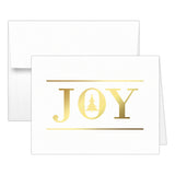 Christmas cards 'Oh Christmas Tree' - Joy / Gold foil - Dazzling Daisies