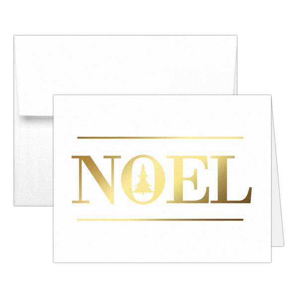 Christmas cards 'Oh Christmas Tree' - Noel / Gold foil - Dazzling Daisies