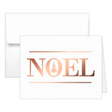 Christmas cards 'Oh Christmas Tree' - Noel / Rose gold foil - Dazzling Daisies