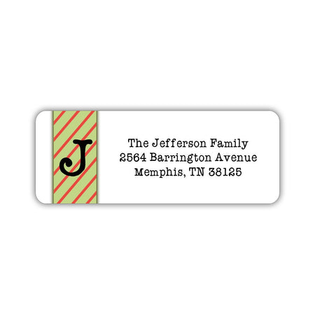 Christmas return address labels 'Star of Bethlehem'