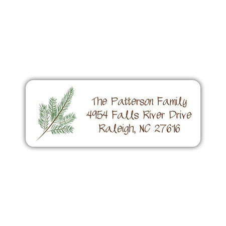 Beach return address labels
