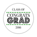 Congrats grad stickers