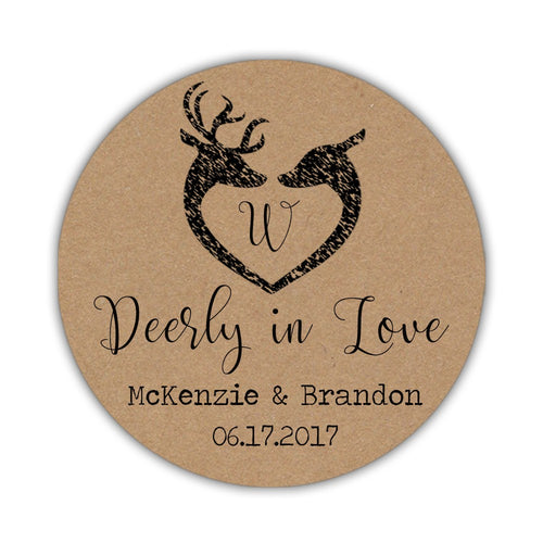 Deerly in love stickers -  - Dazzling Daisies