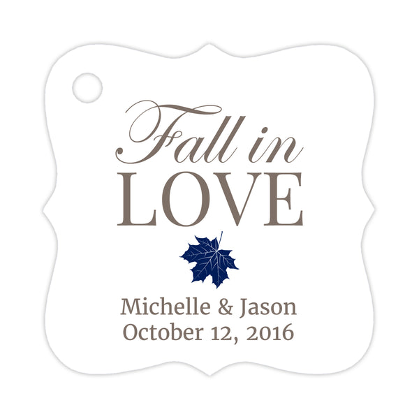 Fall in love tags - Navy - Dazzling Daisies