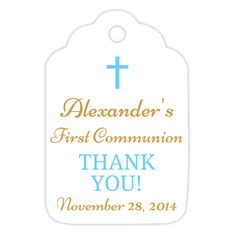 Communion tags, Baptism tags