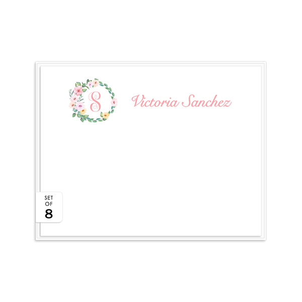 Floral note cards 'Sweet Pastels' -  - Dazzling Daisies