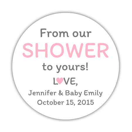 From my shower to yours stickers 'Ultimate Umbrella'