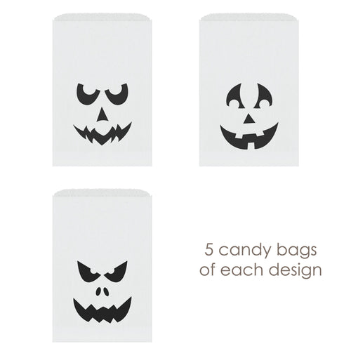 Halloween candy bags 'Creepy Ghosts' -  - Dazzling Daisies