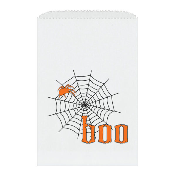 Halloween treat bags 'Scary Spider' - Orange - Dazzling Daisies
