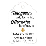 Hangover kit tags - Gold - Dazzling Daisies