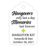 Hangover kit tags - Lime - Dazzling Daisies