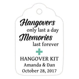 Hangover kit tags - Ocean - Dazzling Daisies