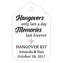 Hangover kit tags - Pink - Dazzling Daisies