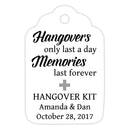 Hangover kit tags - Silver - Dazzling Daisies