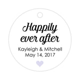 Happily ever after tags - Lavender - Dazzling Daisies