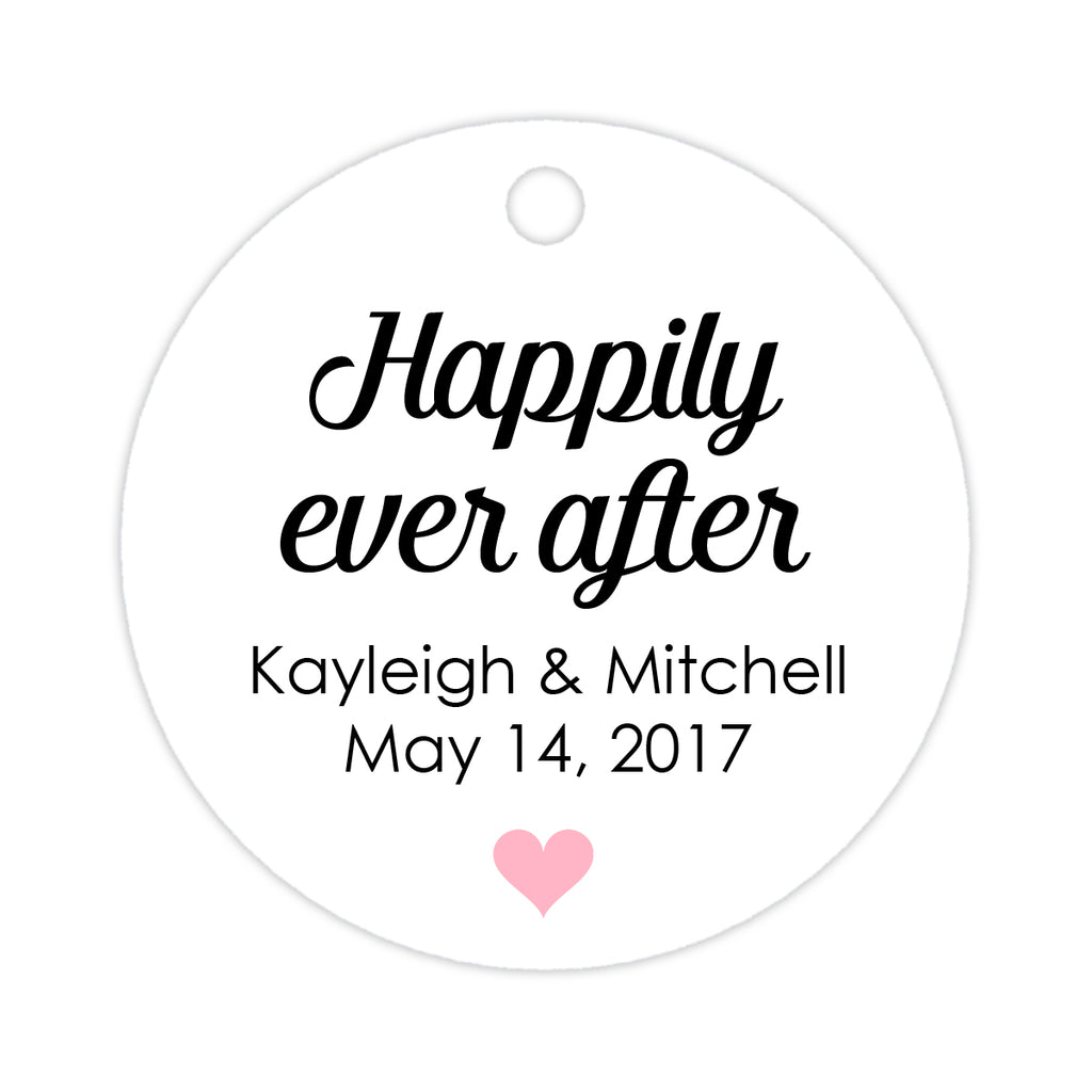 Happily ever after tags - Silver - Dazzling Daisies