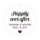 Happily ever after tags - Purple - Dazzling Daisies