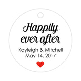 Happily ever after tags - Red - Dazzling Daisies