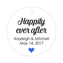 Happily ever after tags - Royal blue - Dazzling Daisies