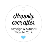 Happily ever after tags - Sky blue - Dazzling Daisies