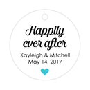 Happily ever after tags - Turquoise - Dazzling Daisies