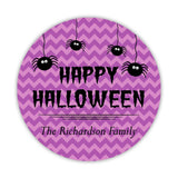 Happy Halloween stickers 'Chevron Madness' - 1.5