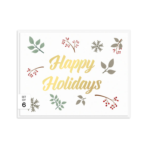 Christmas cards set 'Nature Hues' -  - Dazzling Daisies