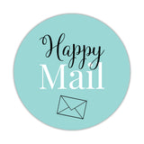 Happy mail stickers 'Elegant Envy' - Aquamarine - Dazzling Daisies