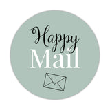 Happy mail stickers 'Elegant Envy' - Sage - Dazzling Daisies